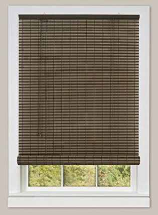 Single Piece 60x72 Cocoa Almond Roll-up Blind