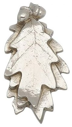 Solid Brass Door Knocker Oak Leaf