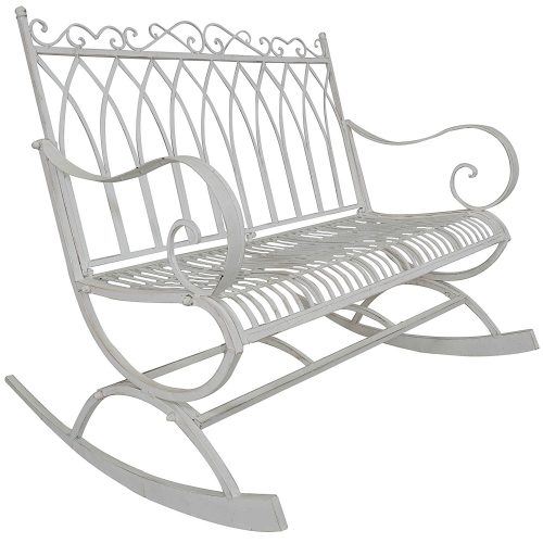 Titan Outdoor Metal Rocking Bench