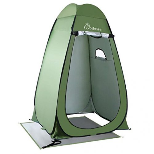 WolfWise Upgrade Pop-up Privacy Tent