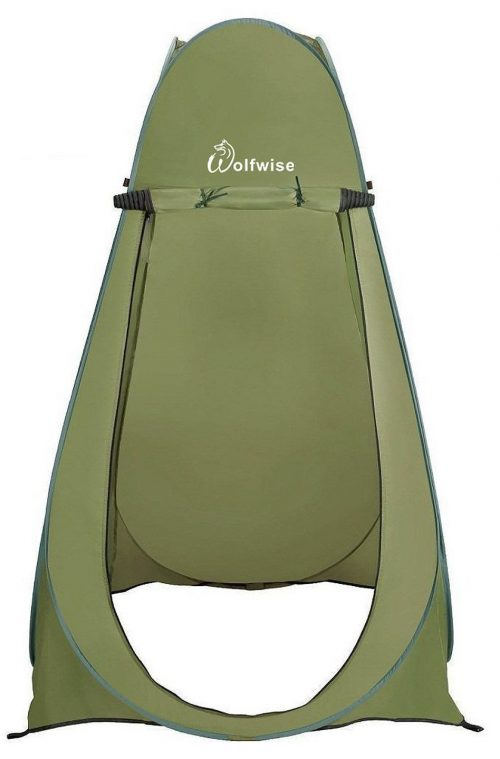 Wolfwise Green Pop Up portable Shelter Tent