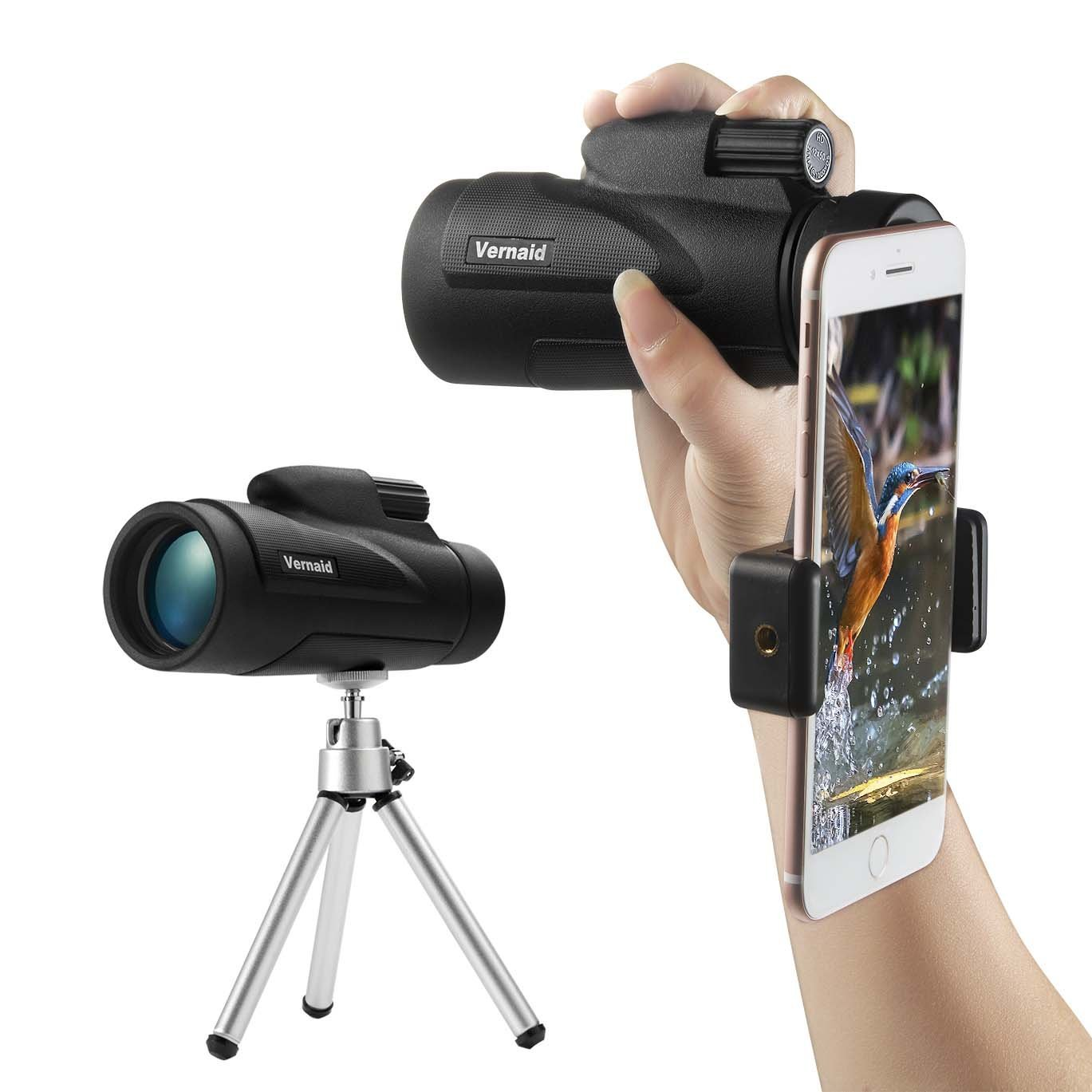 1. DOKRO 12X50 Monocular Telescope with Phone Adapter