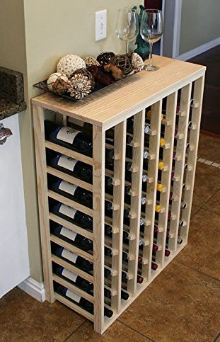 Creekside 48 Bottle Table Wine Rack