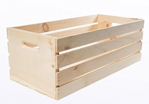 House works, crates, and pallet