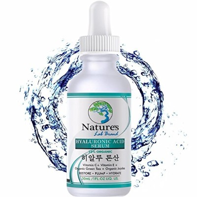 Korean Hyaluronic Facial Serums with Vitamin C & E