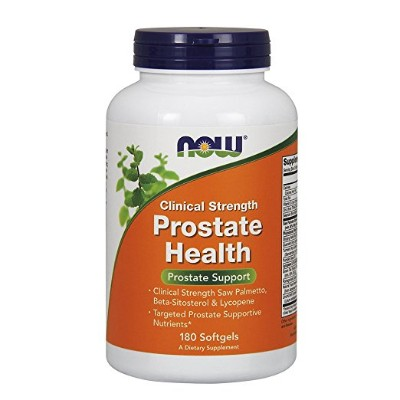 NOW Prostate Health Supplements, 180 Softgels