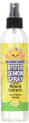 NEW Bitter Lemon Spray - Anti Chew Spray Puppy Kitten Training Treatment - 100% Non Toxic