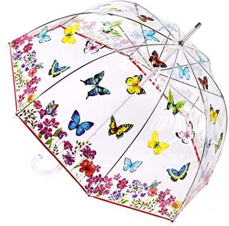 Butterfly Garden Bubble Umbrella