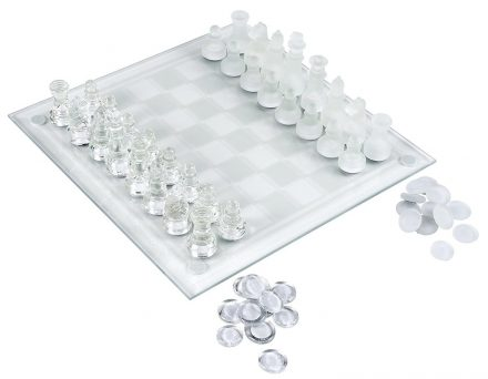 Elegant-glass-chess-sets