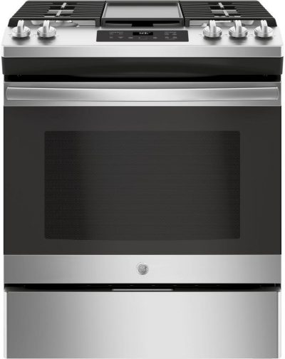 GE JGSS66SELSS 30 Inch Slide-in Gas Range