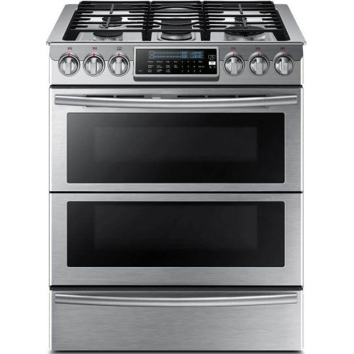 "Samsung Appliance NY58J9850WS 30"" Slide-in,"