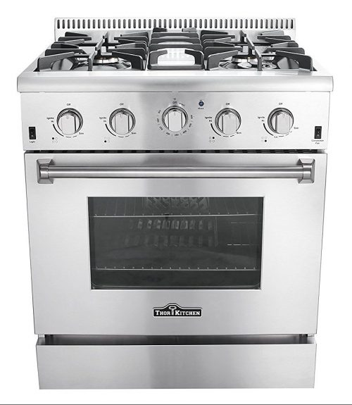 "Thor Kitchen HRG3080U 30"" Freestanding Professional Style Gas Range"