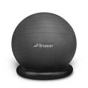 6. Trideer Exercise Stability Ball with Ring & Pump