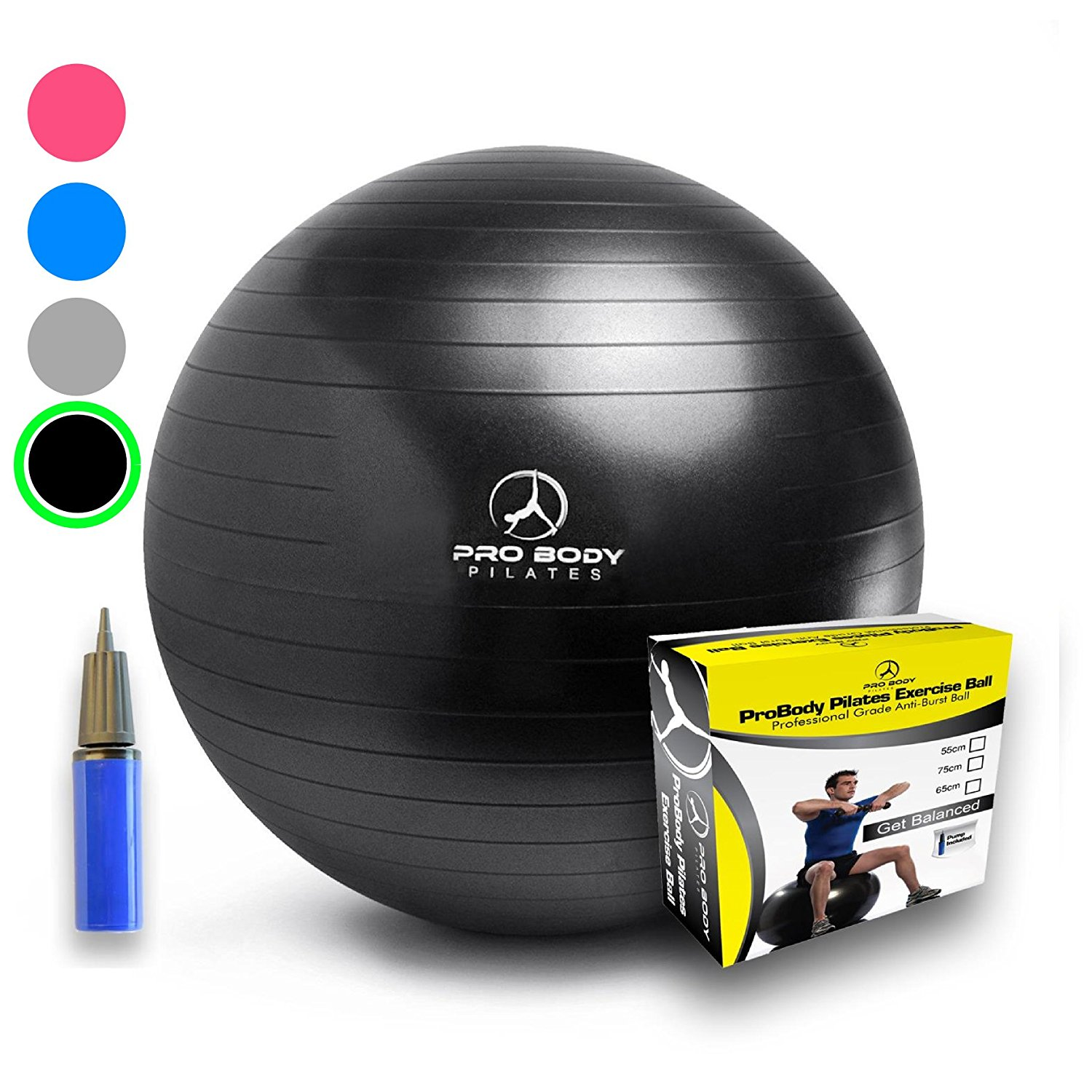 8. Exercise Ball (Multiple Sizes)