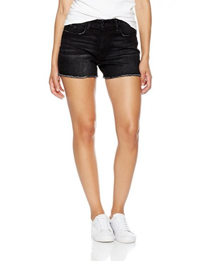 Madison Denim Women's Morgan High Rise Boyfriend Short Rockwell-Denim Shorts for Women