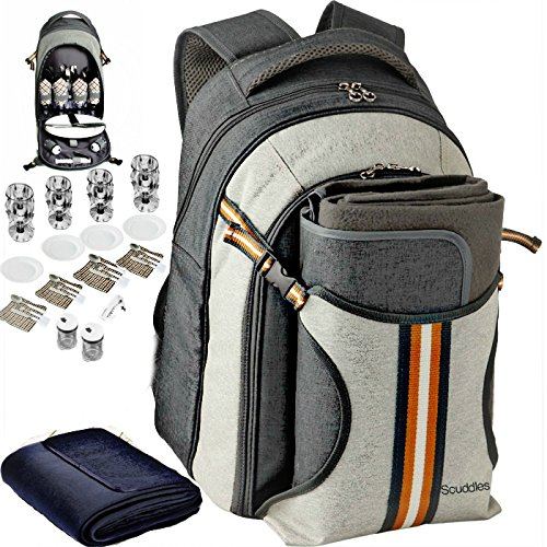 Picnic Backpack - Scuddles 4 Person Set