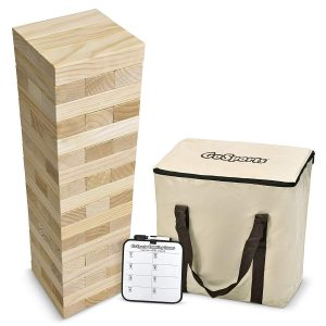GoSports Giant Wooden Toppling Tower