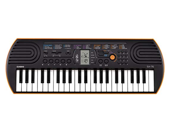 10. Casio SA76 44 mini Sized Keys 100 Tones