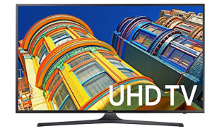 Samsung UN65KU6300 65-Inch 4K Ultra HD Smart LED TV