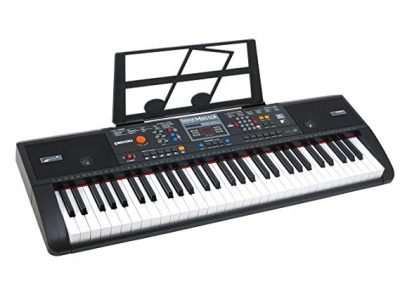 4. Plixio 61 Key Electric Music Keyboard Piano