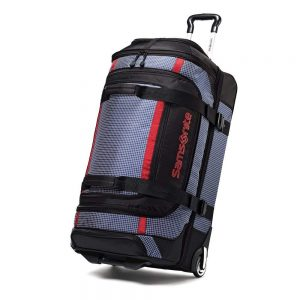 Samsonite Luggage Ripstop Wheeled Duffel