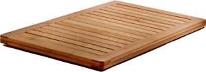 Bamboo Bath Mat Shower Floor Mat