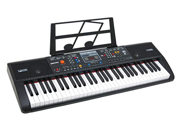 6. Plixio 61 Key Electric Music Keyboard