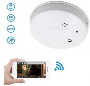 WiFi Hidden Camera Spy Camera Smoke Detector