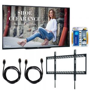 "Sharp PN-LE901 90"" Class 1920X1080 Commercial LCD HDTV Display w/Wall Mount Bundle Includes"