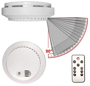 PalmVID DVR LITE Smoke Detector Hidden Camera Spy Camera