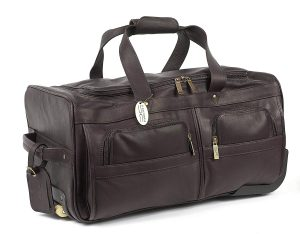 Claire Chase Rolling Duffel,