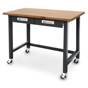 Seville Classics (UHD20271B) UltraGraphite Wood Top Workbench