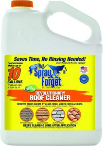 Spray & Forget Revolutionary Roof Cleaner Concentrate