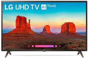 LG Electronics 49UK6300PUE 49-inch 4K Ultra HD Smart LED TV