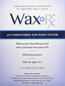 Doctor Easy Wax-Rx Ph Conditioned Ear Wash System