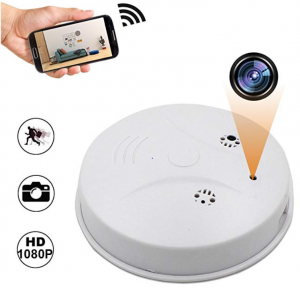 Camakt 2020 Upgrade WiFi Hidden Spy Camera Smoke Detector