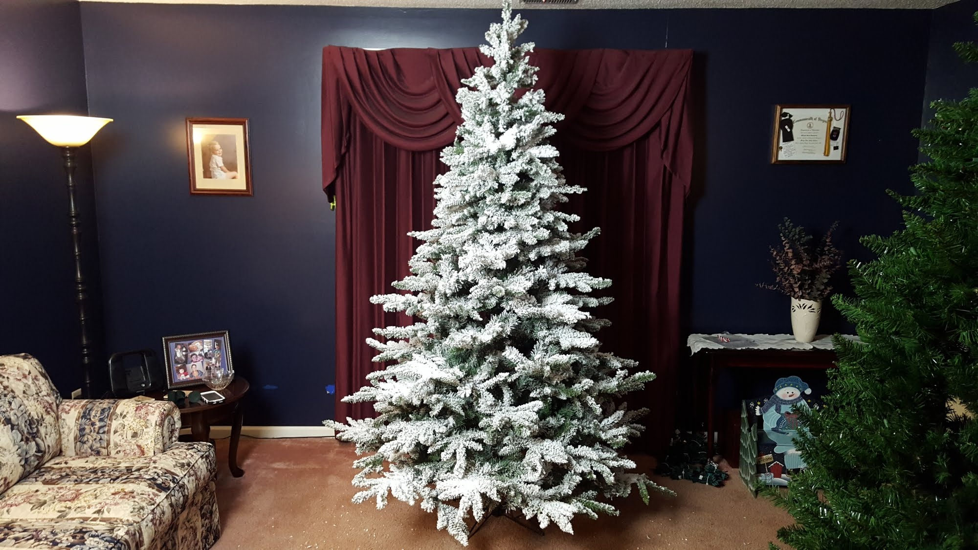Top 10 Best Flocked Trees In 2019 Review