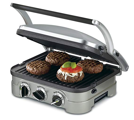 4. Cuisinart 5-in-1 Griddler