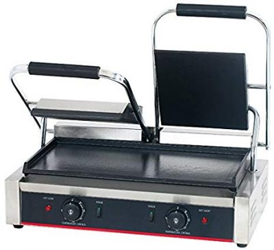 2. Hakka Commercial Grade Panini Press and Sandwich Griddle