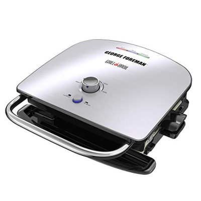 1.  George Foreman 7-in-1 Electric Grill