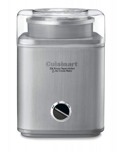 Cuisinart ICE-30BC Pure Indulgence 2-Quart Automatic Frozen Yogurt,