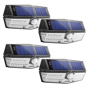 LITOM 30 LED Solar Lights Outdoor