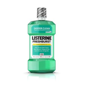 Listerine Freshburst Antiseptic Mouthwash with Germ-Killing Oral Care Formula to Fight Bad Breath