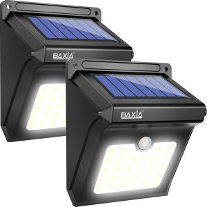 BAXIA TECHNOLOGY LED Solar Lights Outdoor
