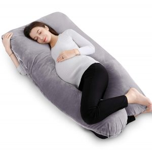 "QUEEN ROSE 55"" Pregnancy Pillow U Shaped"