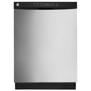 "Kenmore 13223 24"" Built-in Dishwasher in Stainless Steel"