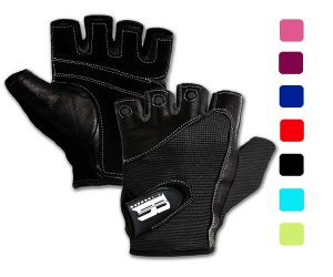 RIMSports Gym Gloves for Powerlifting, Weight Training