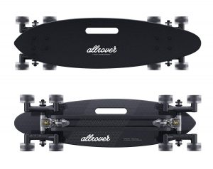 Allrover Stair-Rover Longboard for City Surfing