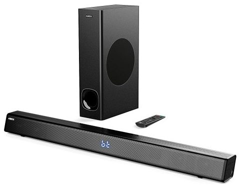 Sound Bar with Subwoofer