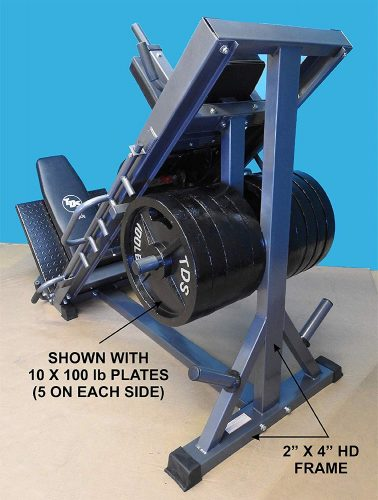 4-Way Hip Sled to use as Leg